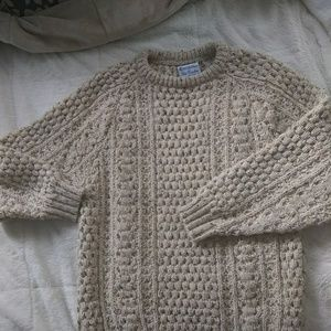 Handloomed Chunky Knit Oversized Sweater